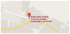 Studio Abak d.o.o. - kje smo?